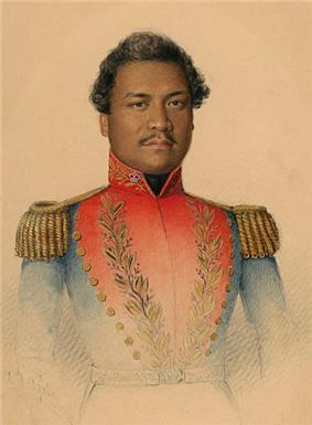 young Hawaiian in uniform