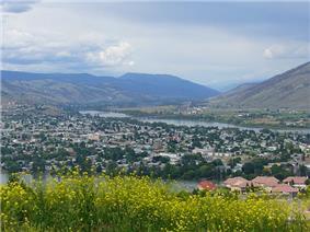 City view of Kamloops