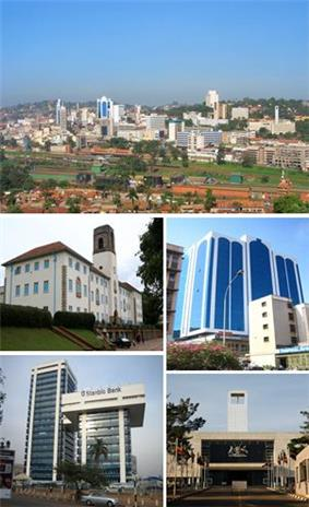 Kampala in 2011
