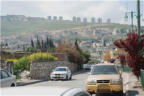 Roadside view of Kafr Kanna