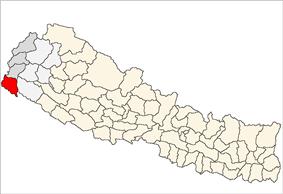 Location of Kanchanpur