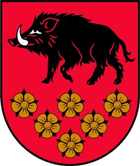 Coat of arms of Kandava Municipality