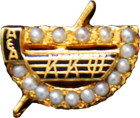 Crown Pearl Badge of Kappa Kappa Psi.