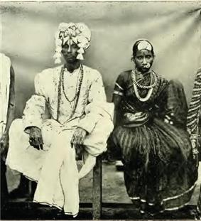 Kapu bride and groom 1909.jpg