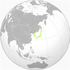 Location of Karafuto