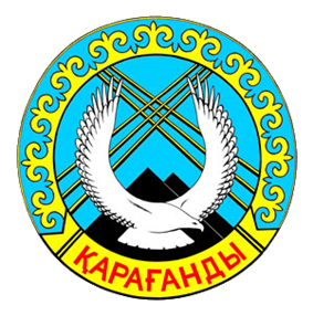 Official seal of Karaganda