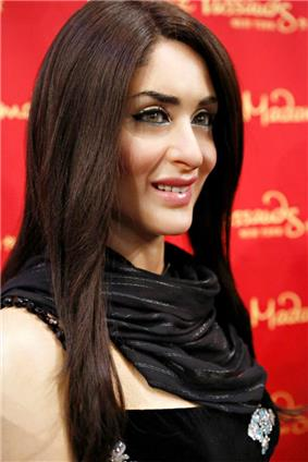 A wax sculpture of Kareena Kapoor