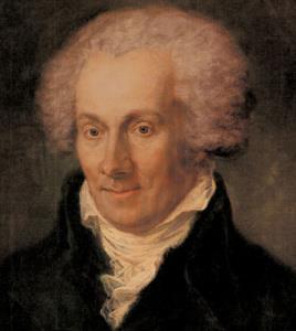 portrait of Karl von Eckartshausen