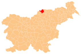 The location of the Municipality of Dravograd