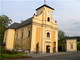Undermined church in Karviná
