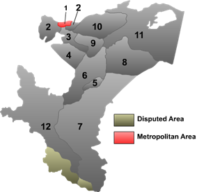Location (red) within Kashgar Prefecture