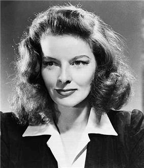 Portrait of Hepburn, aged 33