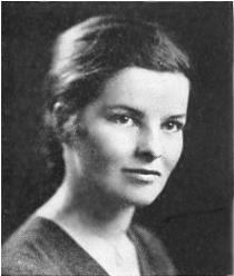 Portrait of Hepburn, age 21