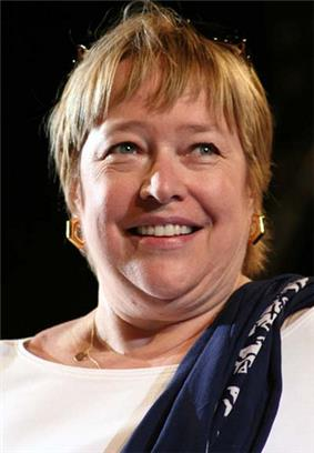 A portrait of Actress Kathy Bates at the Giffoni Film Festival