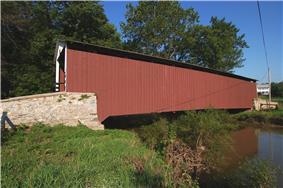 Kauffman's Distillery Covered Bridge