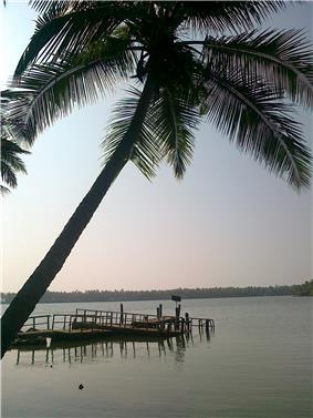 Kavvayi boat jetty