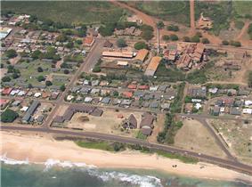 aerial view of Kekaha