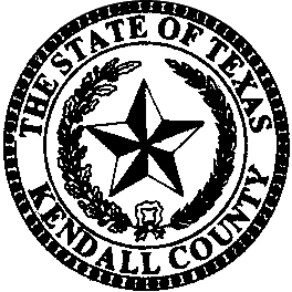 Seal of Kendall County, Texas