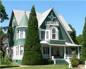 The Kendall House in Superior, built in 1898, is generally open for tours during Superior's Victorian Festival