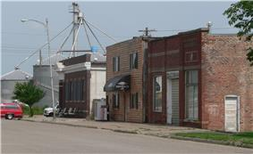 Downtown Kennard: Maple Street