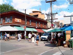 Shops in Kensington Market