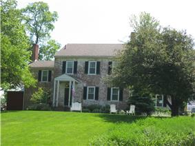 The Kenton-Hunt Farm, a historic site in the township