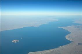 Lake Turkana Aerial Photo