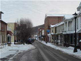 Downtown Keyser in January 2014