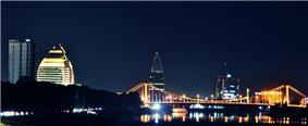 Khartoum skyline at night