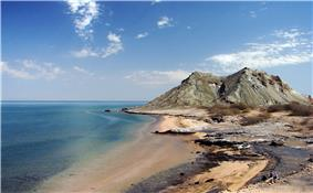 Khezr Beach, Hormoz Island, Persian Gulf, Iran, 02-09-2008.
