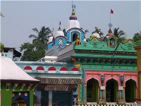 Khirachora Gopinatha temple front view