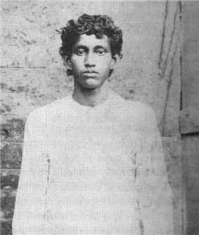 Khudiram Bose close up image