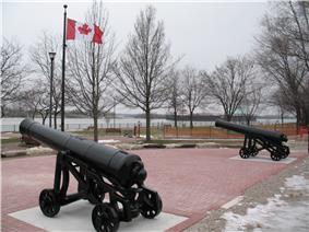 King's Navy Yard Park at Amherstburg