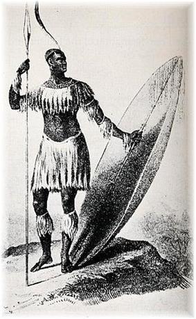 Shaka kaSenzangakhona of Zulu Kingdom