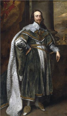 Charles I, by Anthony van Dyck
