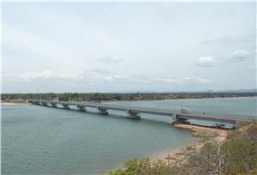 Bridge at Kinniya, Trincomalee District