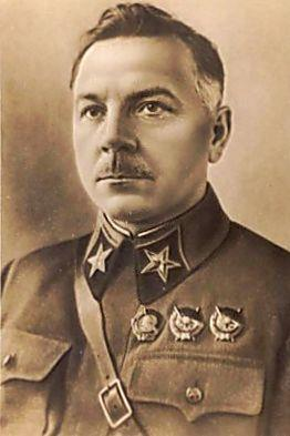 A photo taken in 1937 of Kliment Voroshilov
