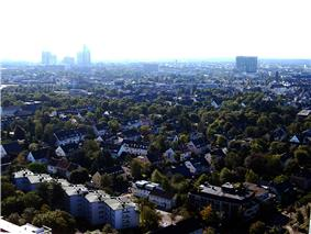 aerial view of Lindenthal