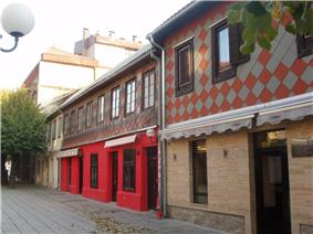 Kolasin - Old Houses in Main Street.JPG