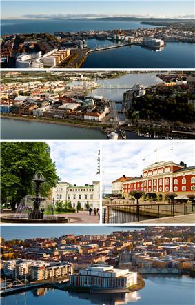 Collage of Jönköping