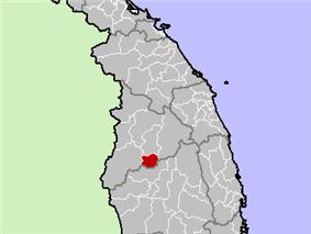 Location in Kon Tum Province