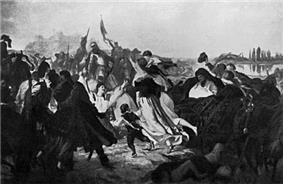 Hetman Koniecpolski Frees Persons Captured by Tatars