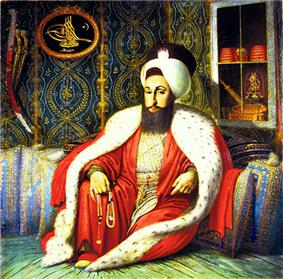 Portrait of Selim III by Konstantin Kapidagli