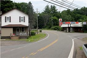 Pennsylvania Route 239 in Koonsville