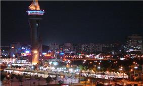 Sokcho and Expo tower