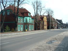 Korfanty street in Radlin
