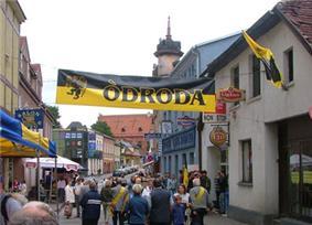 Meeting of Kashubians on the streets of Kościerzyna, 2004