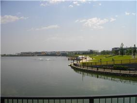View of Aeon LakeTown shopping mall