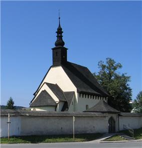 St Stephen'Church at Žilina