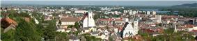 View of Krems from the Kreuzberg mountain